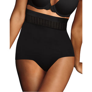 Maidenform Stay Put Hi Waist Brief,Style DM0040