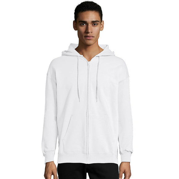Hanes Men's Ultimate Cotton® Heavyweight Full Zip Hoodie (F280),Style F283