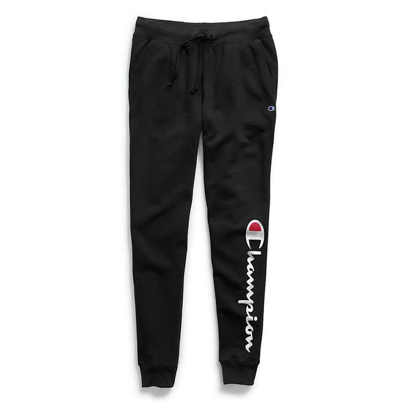 Champion Women's Powerblend® Fleece Joggers, Vertical Logo,Style GF937 Y07459