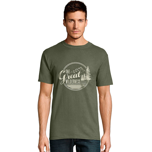 Hanes Men's The Great Wilderness Graphic Tee,Style GT49 Y06369