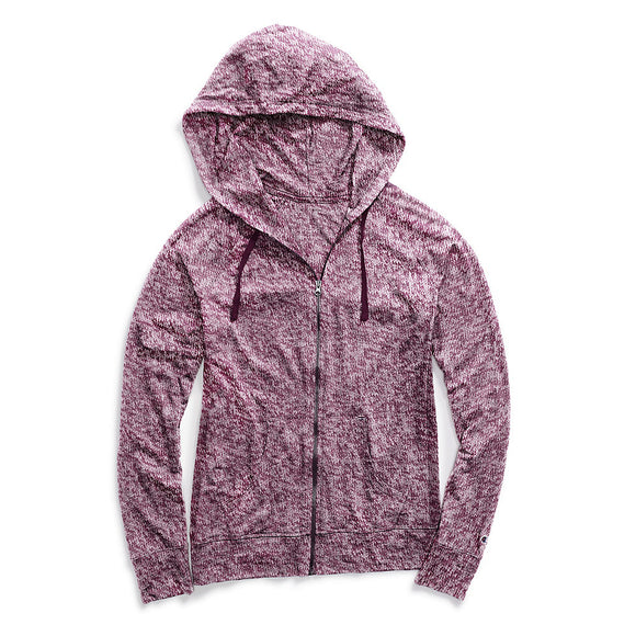 Champion Women's Heathered Jersey Jacket,Style J4165