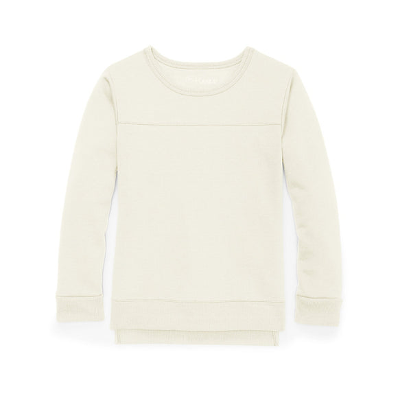 Hanes Girls' High-Low Sweatshirt,Style K375