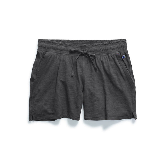 Champion Women's Heathered Jersey Shorts,Style M1659