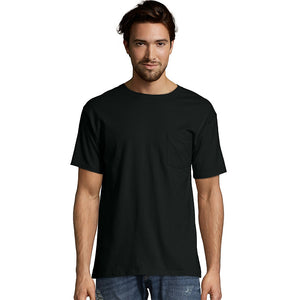 Hanes Men's Short Sleeve Pocket Tee Value Pack (2-pack),Style O55902