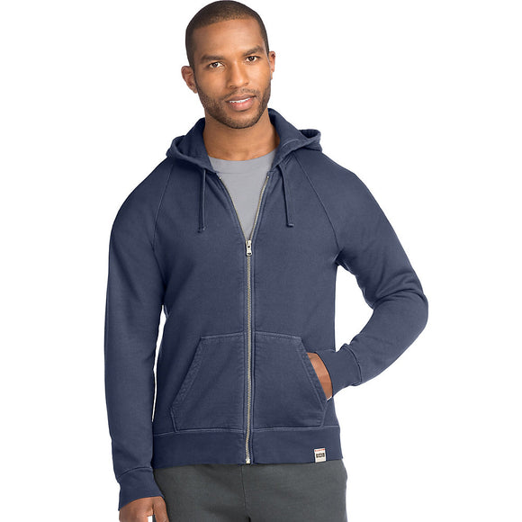 Hanes Men's 1901 Heritage Fleece Full Zip Hoodie,Style O8355 549632