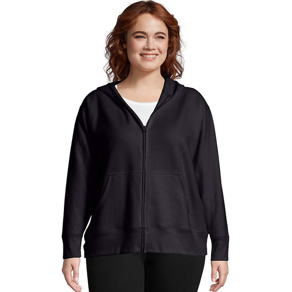 Just My Size ComfortSoft® EcoSmart® Fleece Full-Zip Women's Hoodie,Style OJ105