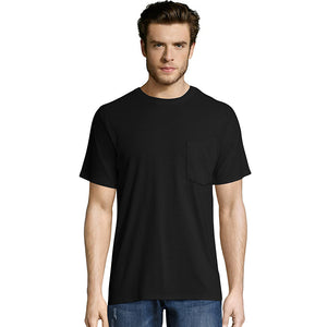 Hanes Men's X-Temp® FreshIQ® Workwear Pocket Tee Value 2-Pack,Style OW1102