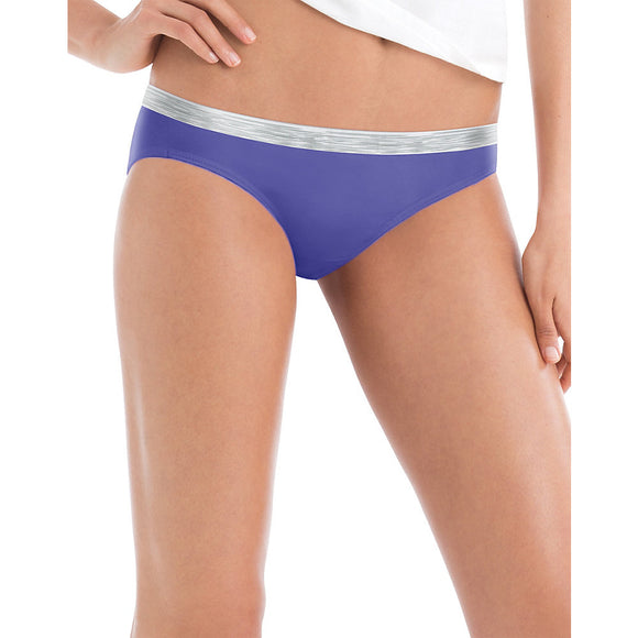 Hanes Cool Comfort™ WoMen's Cotton Sporty Bikini 6-Pack,Style P642SC