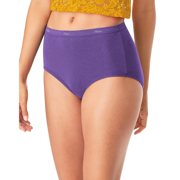 Hanes® Cool Comfort™ WoMen's Cotton Brief Panties 6-Pack,Style PP40AD