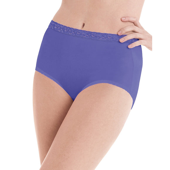 Hanes WoMen's Nylon Brief Panties 6-Pack,Style PP70AS