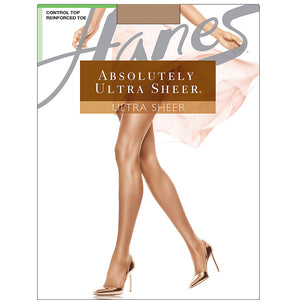Hanes Absolutely Ultra Sheer Control Top Reinforced Toe,Style 706
