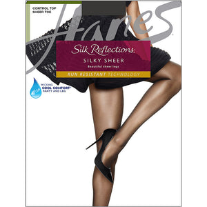 Hanes Silk Reflections Lasting Sheer Control Top Pantyhose,Style 0A925