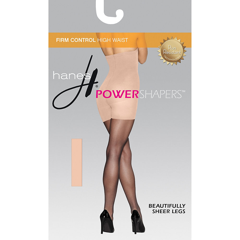 b51aa40685 2 Hanes Women s Firm Control High Waist Power Shapers 0B988 XL Nude. About  this product. Picture 1 of 3  Picture 2 of 3  Picture 3 of 3