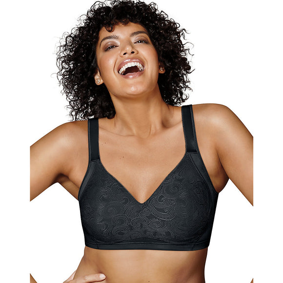 Playtex 18 Hour Side & Back Smoothing Wirefree Bra,Style 4912B
