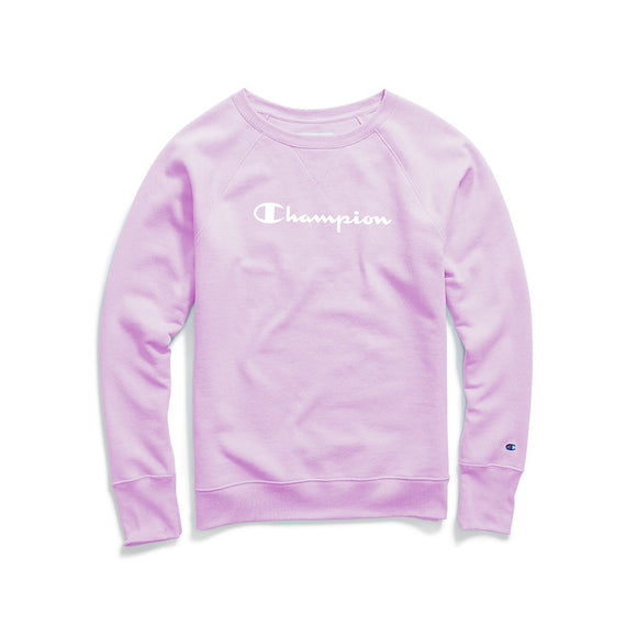 Champion Women's Fleece Boyfriend Sweatshirt,Style W2956G Y07050