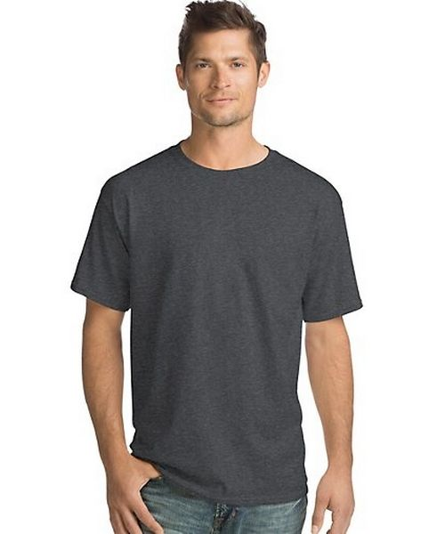Hanes Comfortsoft Men's Short-Sleeve Crewneck T-Shirt 4-Pack, Style O5280
