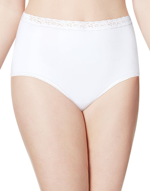 Just My Size Nylon Brief Panties 1-Pack (0601P4), Style 27593