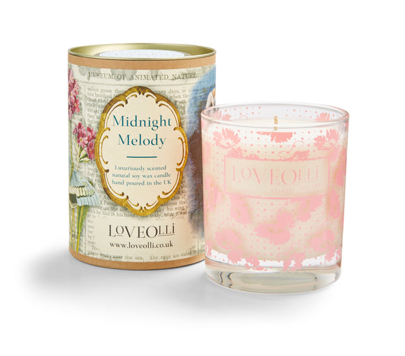 gifteasyonline - LoveOlli Scented Candle Midnight Melody - Ulster Weavers - Candles