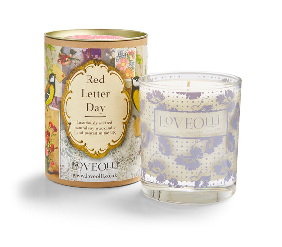 LoveOlli Scented Candle Red Letter Day