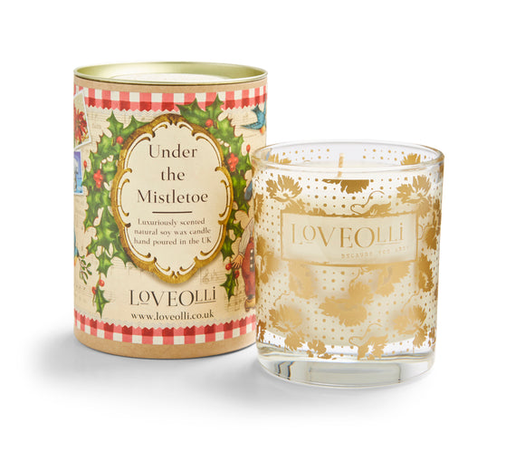 LoveOlli Scented Candle Under the Mistletoe
