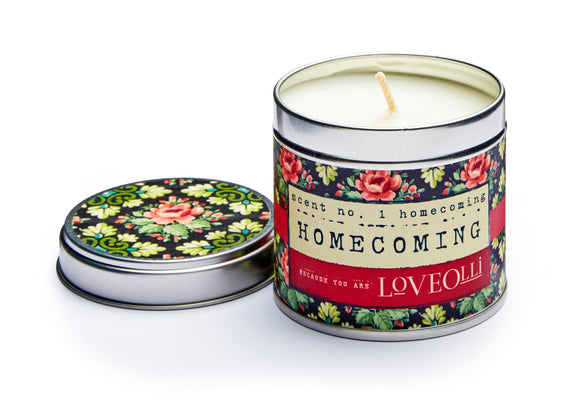 gifteasyonline - loveOlli Scented Tin Candle Homecoming - Ulster Weavers - Candle