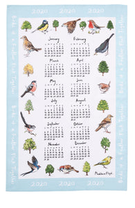 Ulster Weavers Bird Song Calender Tea Towel 2020 - Gifteasy Online