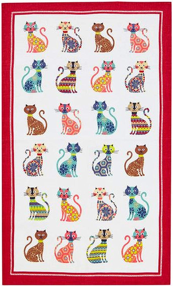 Ulster Weavers Groovy Cat Cotton Tea Towel