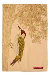 gifteasyonline - Cotton Tea Towel Woodpecker by Ulster Weavers - Ulster Weavers - tea Towel