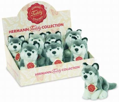 Teddy Hermann 15cm Husky Toy Dog (One Only)