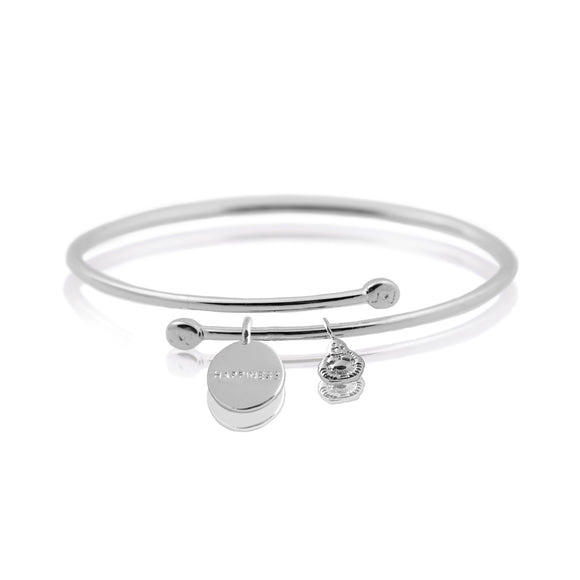 Joma Jewellery - Story Bangle - Happiness
