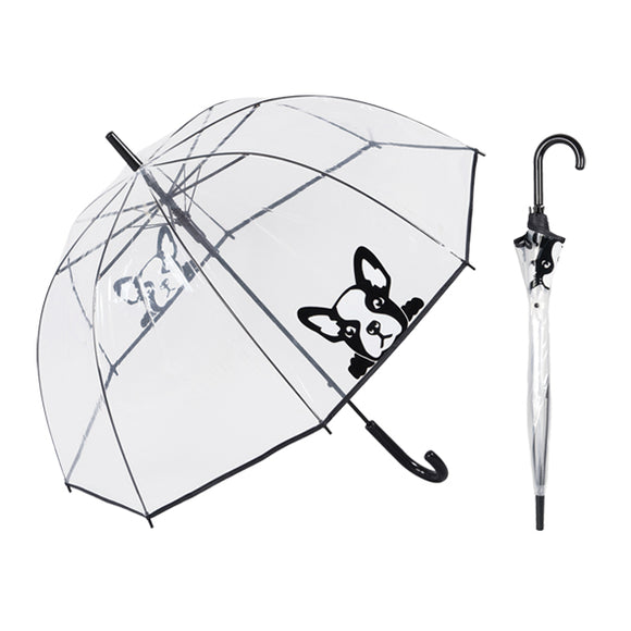 Susino French Bulldog Peek a Boo Umbrella
