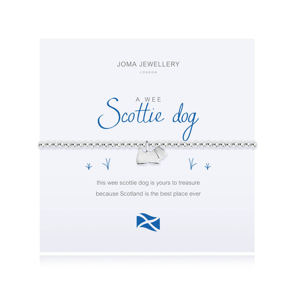 Joma Jewellery A Wee Scottie Dog - Gifteasy Online