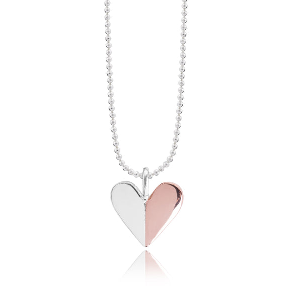 gifteasyonline - Joma Valentina - Silver & Rose Gold Necklace - Joma Jewellery - necklace