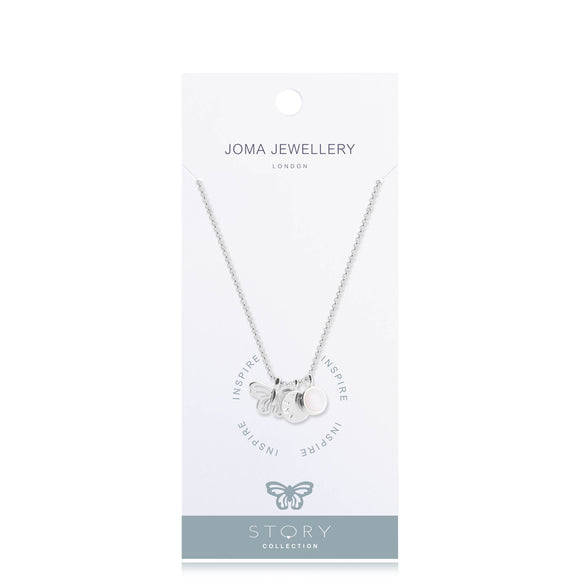 Inspire Story Necklace By Joma Jewellery - Gifteasy Online