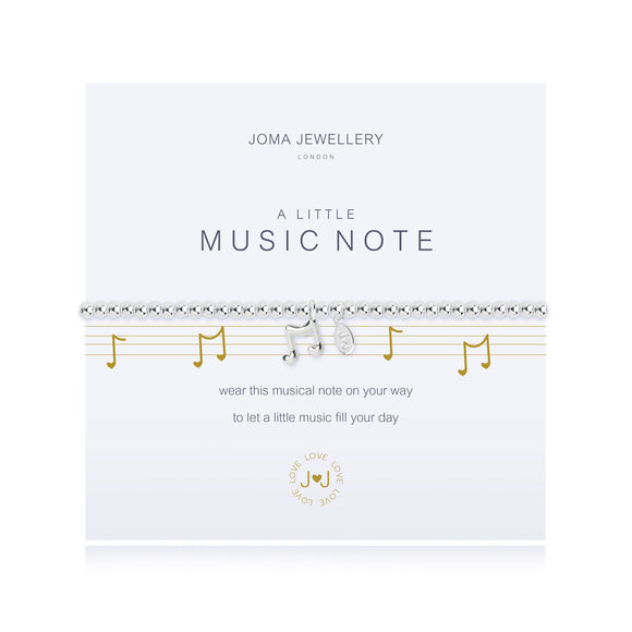 Joma Jewellery A Little Music Note Bracelet - Gifteasy Online