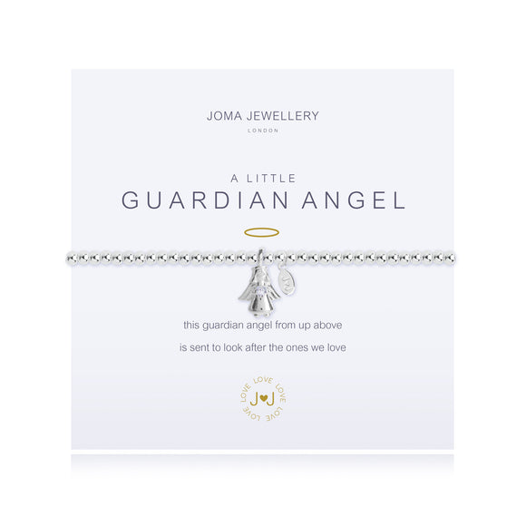 gifteasyonline - A Little Guardian Angel Bracelet Silver Plated By Joma Jewellery - Joma Jewellery - Bracelet