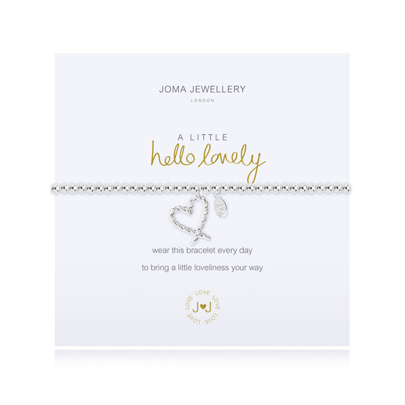 Joma Jewellery A Little Hello Lovely Bracelet - Gifteasy Online