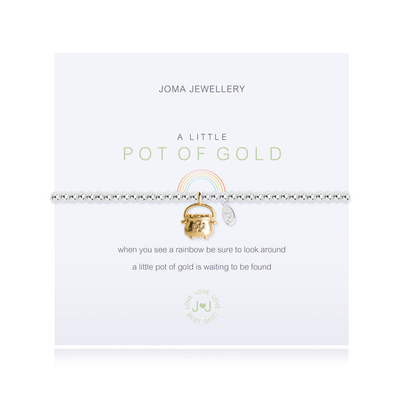 Joma Jewellery A Little Pot of Gold Bracelet - Gifteasy Online