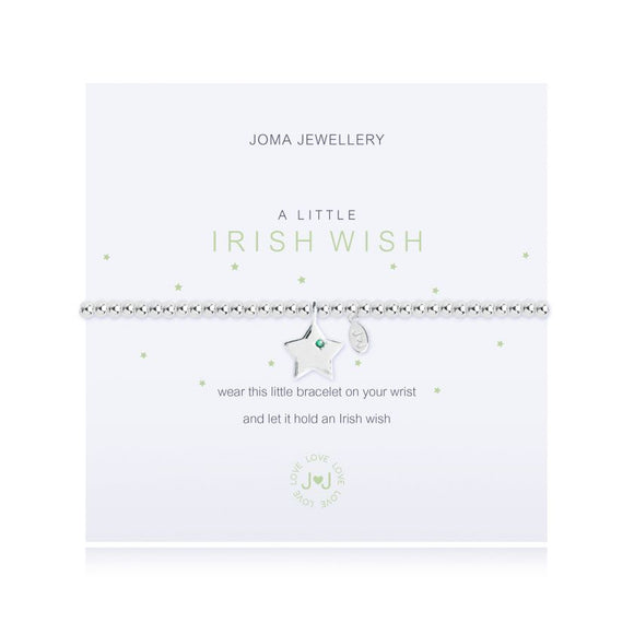 Joma Jewellery A little Irish Wish - Gifteasy Online