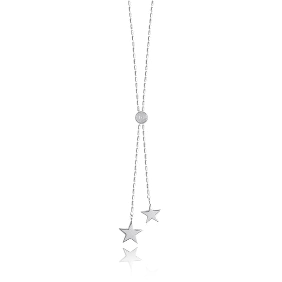 gifteasyonline - Dash Lariat Silver Plated Star Necklace by Joma Jewellery - Joma Jewellery - necklace