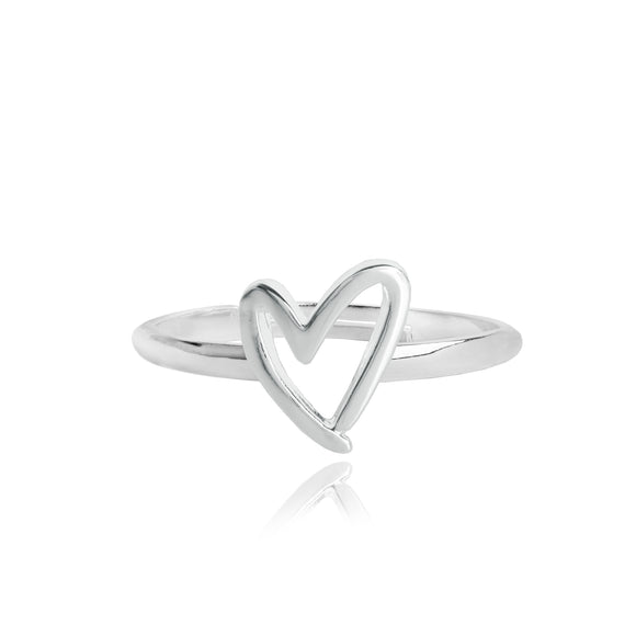 gifteasyonline - Joma Jewellery Scruffy Ring Heart Gift Bag and Tag - Joma Jewellery - ring