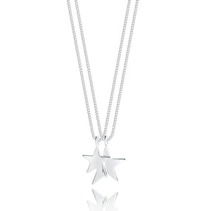 Joma Jewellery Karli Double Strand Star Necklace Free Gift Bag and Tag - Gifteasy Online