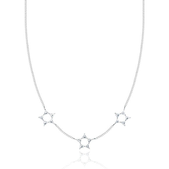 gifteasyonline - Joma Jewellery Triangle Necklace Crystal Star - Joma Jewellery - necklace