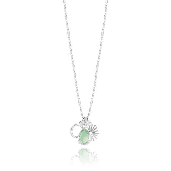 Joma Jewellery Summer Stories Energy Good Karma and Positivity Necklace - Gifteasy Online