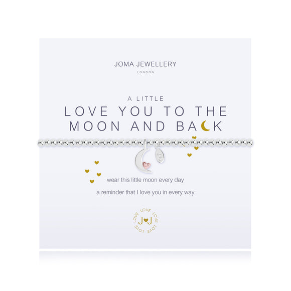 Joma Jewellery Love You to The Moon & Back Bracelet - Gifteasy Online