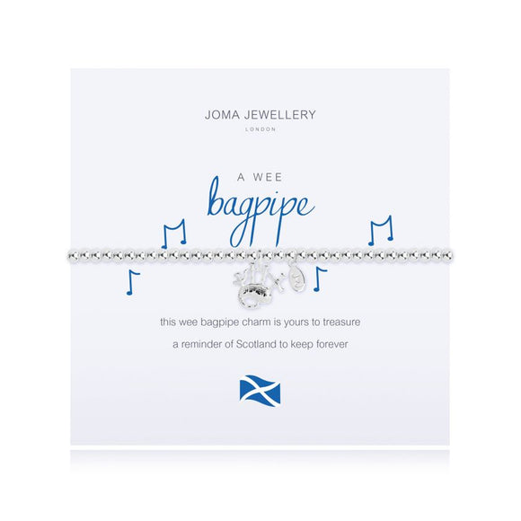 Joma Jewellery A Wee Bagpipe Bracelet