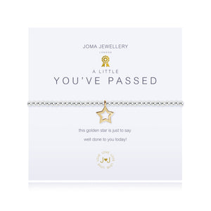 gifteasyonline - A little YOU''''VE PASSED! - bracelet - Joma Jewellery - Bracelet