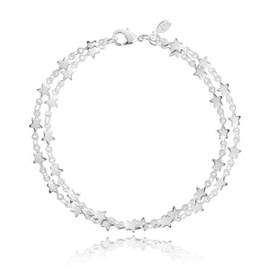 gifteasyonline - WISH UPON A STAR - double chain bracelet - Joma Jewellery - bracelet