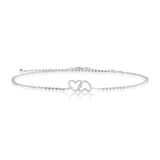 gifteasyonline - Joma Jewellery (2801) - Love  Trio - Heart - Wear 3 Ways - Necklace, Choker or Bracelet - Joma Jewellery - bracelet, necklace, choker