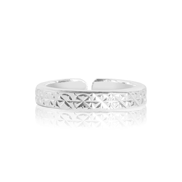 gifteasyonline - SARA silver dazzle cut ring - Joma Jewellery - ring
